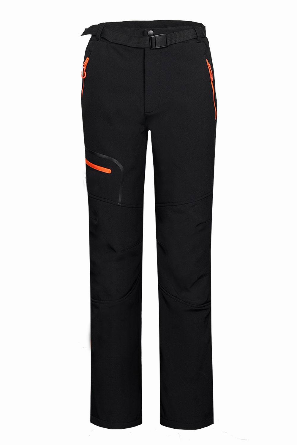 warm winter Men softshell pants waterproof Outdoor camping & hiking pants Fleece windproof skiing snowboard trousers