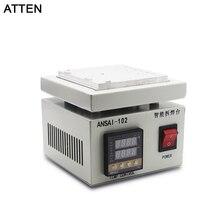 ATTEN 220 V Intelligente entlötstation Entfernen halterung motherboard Entfernen die CPU IC kunststoff heizung plattform reparatur maschine