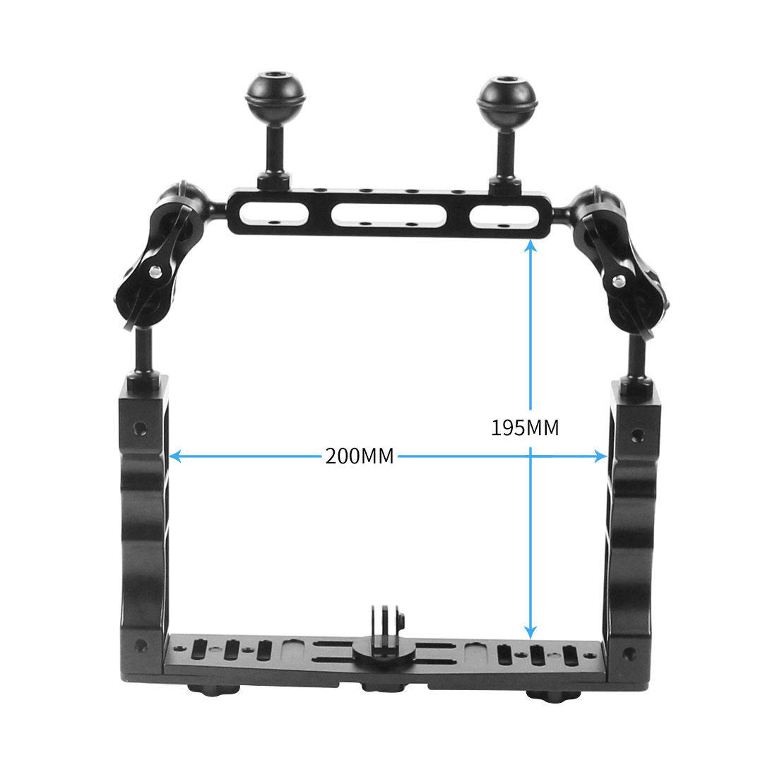 Underwater Tray Housings Arm Kit For Camera Holder Grip Diving Flash Arm Light C+am Accessory Set KF22567-B