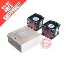 FOR HP DL380G6 G7 Upgrade Kit heatsink+fan 496064-001 496066-001