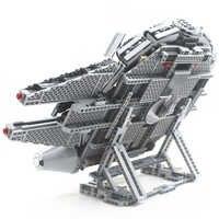 Republican falcon vertical expositor compatível com lego 75105 e 05007 blocos de construção tijolos com instruções de construção