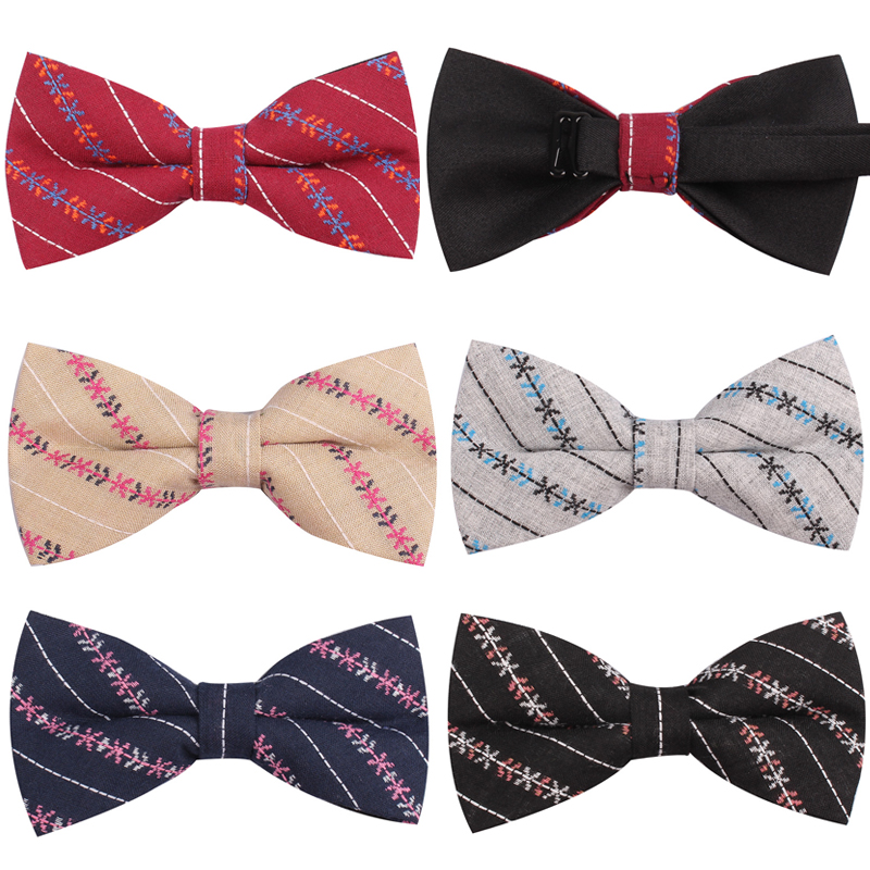 NEW Men Classic Bow ties Fashion Neckwear Adjustable Mens Tuxedo Bowtie For Wedding Male Neck Ties For Men Shirts Bowtie