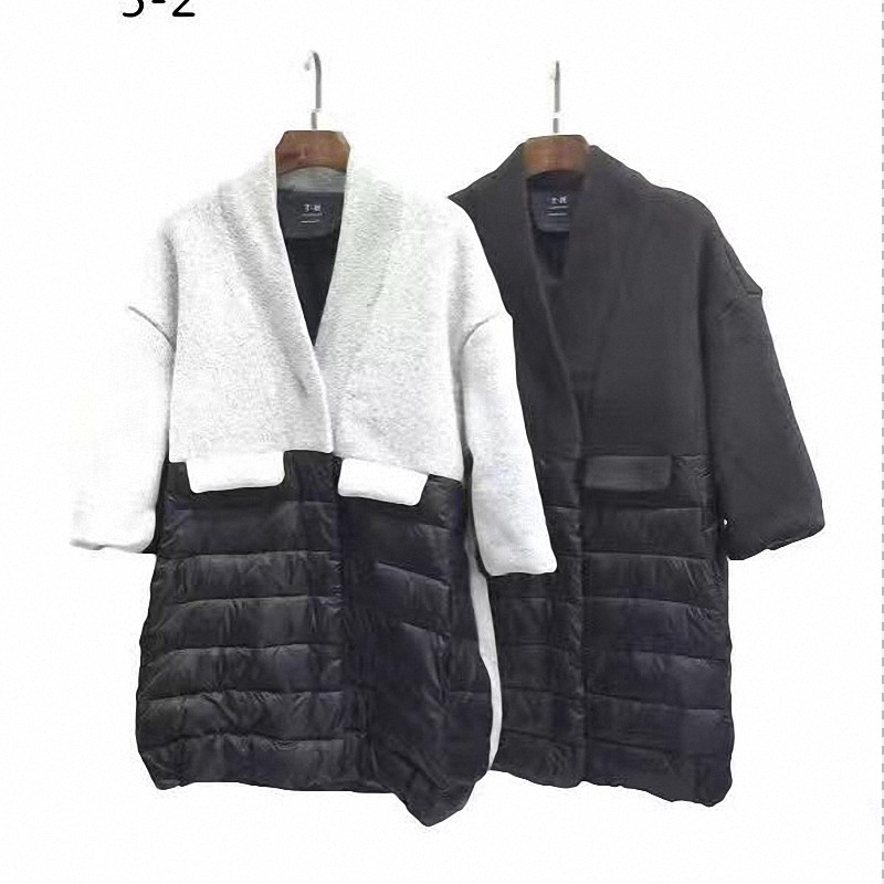 цена Women's Quilted Thermal Cardigan Winter Coat Spliced Sweater Poncho Collar Cozy Heather Female Sherpa Party Jacket онлайн в 2017 году