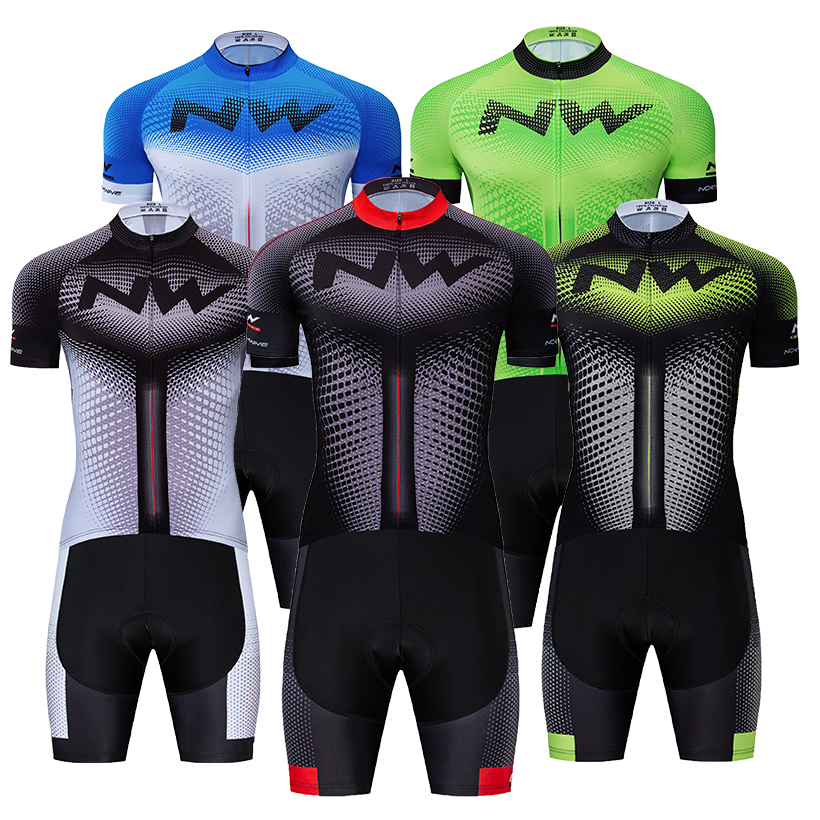 5 color Summer NW Cycling Jersey 9D Bib Set MTB Bicycle Clothing Ropa Ciclismo Bike Wear Clothes Mens Short Maillot Culotte Suit5 color Summer NW Cycling Jersey 9D Bib Set MTB Bicycle Clothing Ropa Ciclismo Bike Wear Clothes Mens Short Maillot Culotte Suit