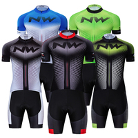 5 color Summer NW Cycling Jersey 9D Bib Set MTB Bicycle Clothing Ropa Ciclismo Bike Wear Clothes Mens Short Maillot Culotte Suit