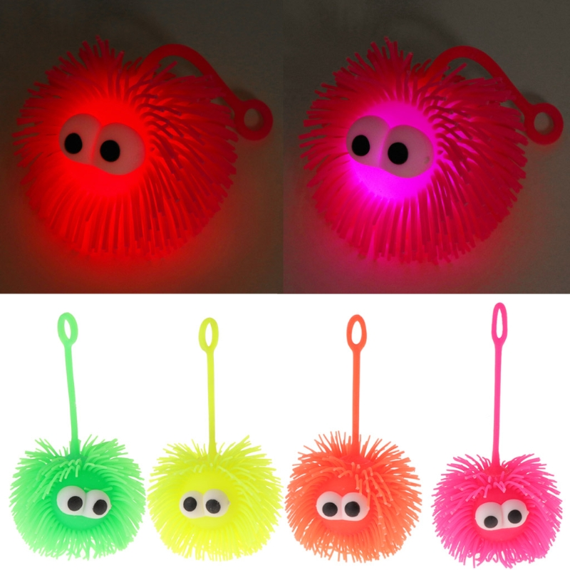 Kids Creative Raised Eyes Doll Anti Stress Ball Vent Animal Squeezing Toys QK