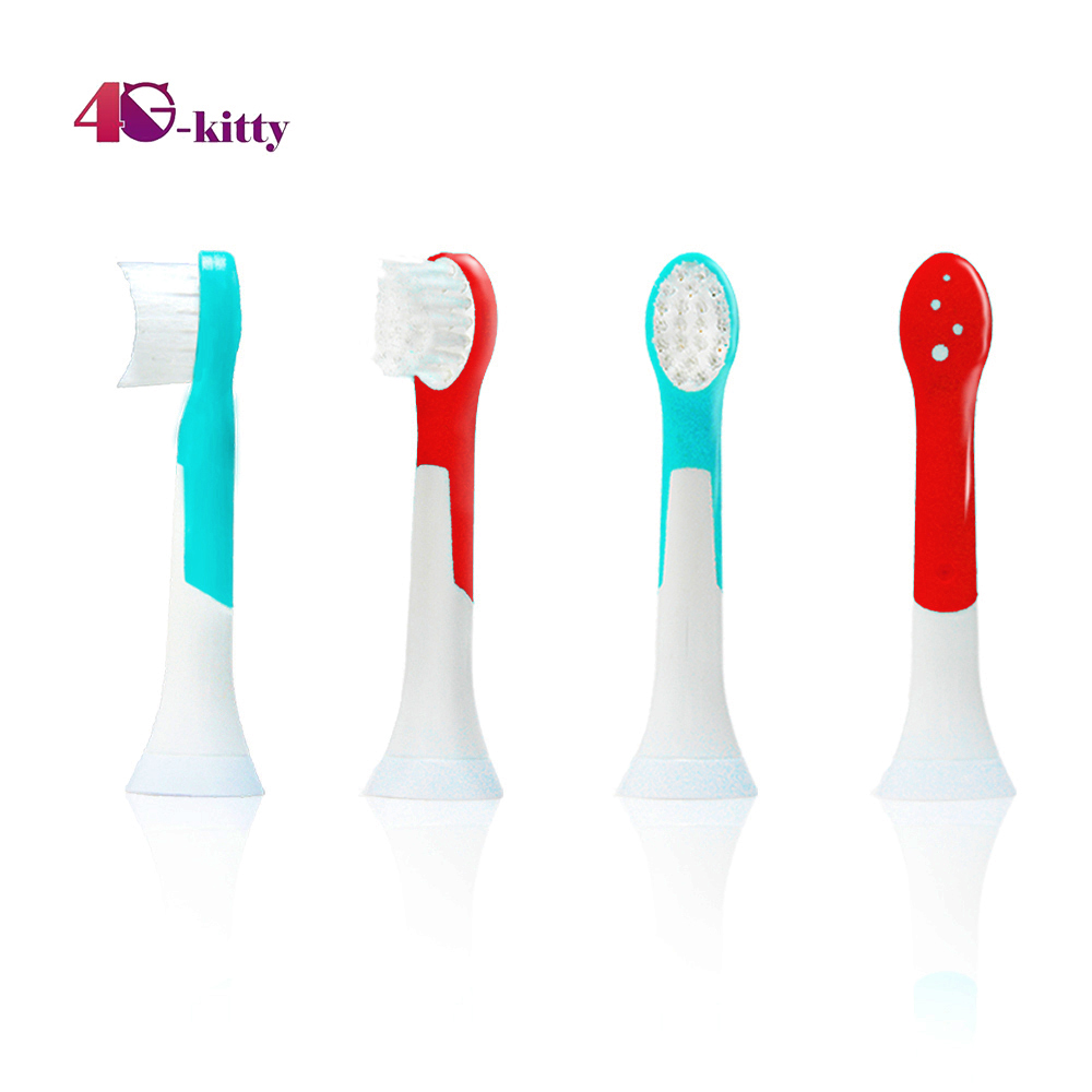 Toothbrush Heads Replacement for Sonicare HX6032, <font><b>HX6034</b></font> Brush Head Replacement Fit for Philips Sonicare Kids Toothbrush 12PCS image