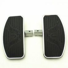 Front Rider Footboard Floorboard for Honda Shadow Steed VLX VT 400 600 (24cm) цена