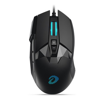 New DAREU Horseman EM945 with OLED Display Screen 16000 DPI Game Cable Mouse Desktop and Laptop USB Universal
