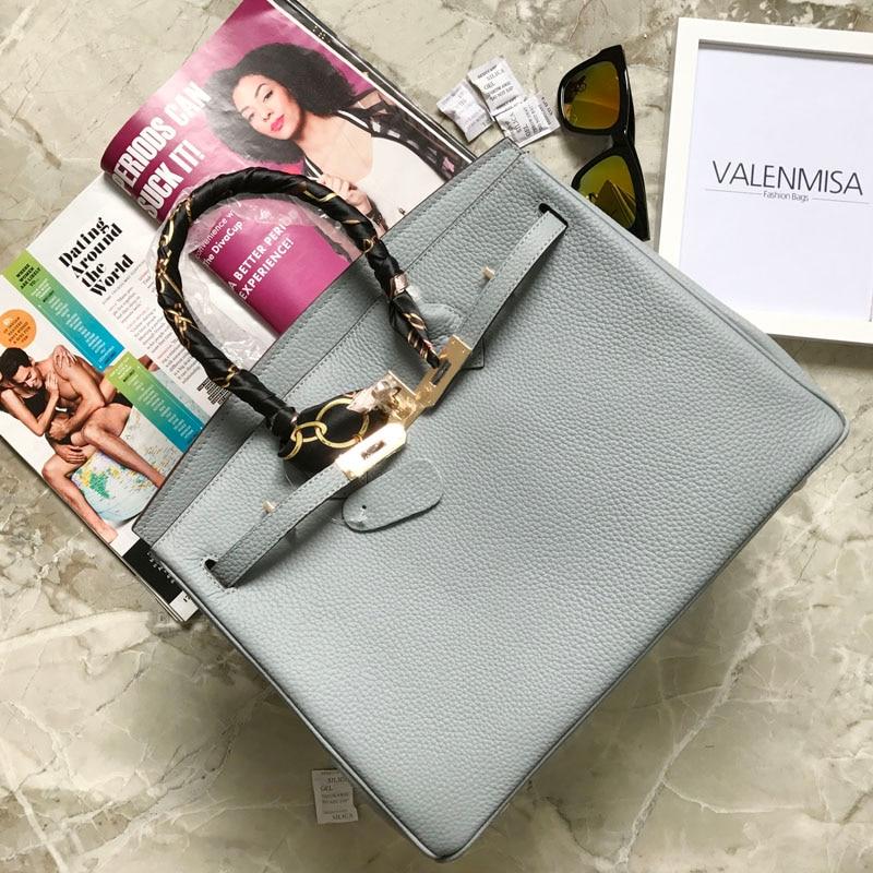 VALENMISA Brand Fashion Genuine Leather Crossbody Bags Vintage Women'S Handbag Luxury Ladies Shoulder Messenger Bags Scarf 2017