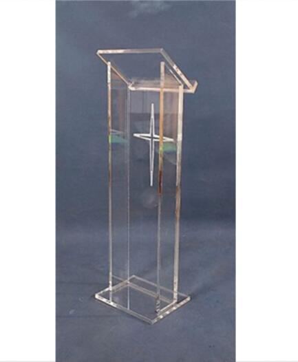 Clear Perspex Podium Acrylic Lectern Acrylic Lectern/ Clear Acrylic Lectern Sand Acrylic Pulpit Plexiglass