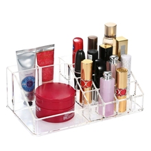 Transparent Make Up Organiser Cosmetic Storage Box Display Makeup Case For Cosmetics Brush Organizer Home Jewelry Box Sets new makeup organizer bag case cosmetic jewelry organizer box toiletry make up gift box professional jewelry cosmetics case