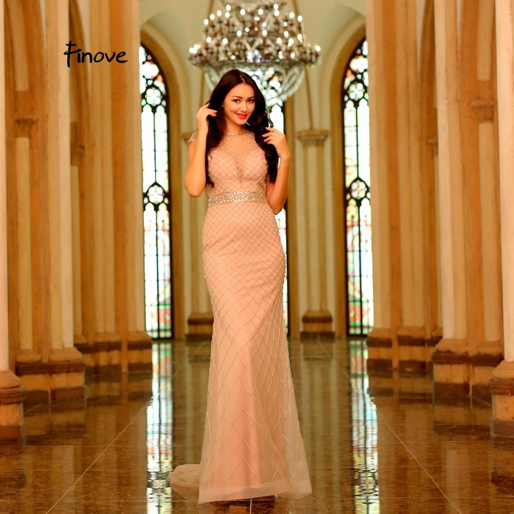 Φόρεμα Καλοκαιρινό Φόρεμα Σαμπάνιας - Ειδικές φορέματα περίπτωσης - Φωτογραφία 2
