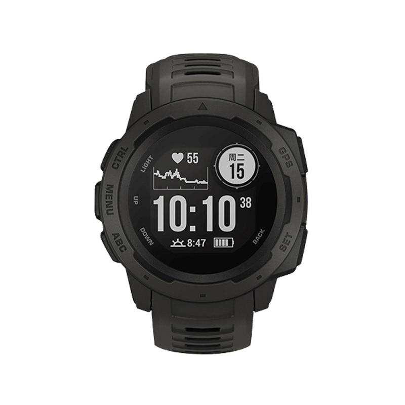 2019 Moda 2019 Di Modo Di 22 Millimetri Di Sport Vigilanza Del Silicone Wristband Della Fascia Della Cinghia Per Garmin Istinto Nk-shopping