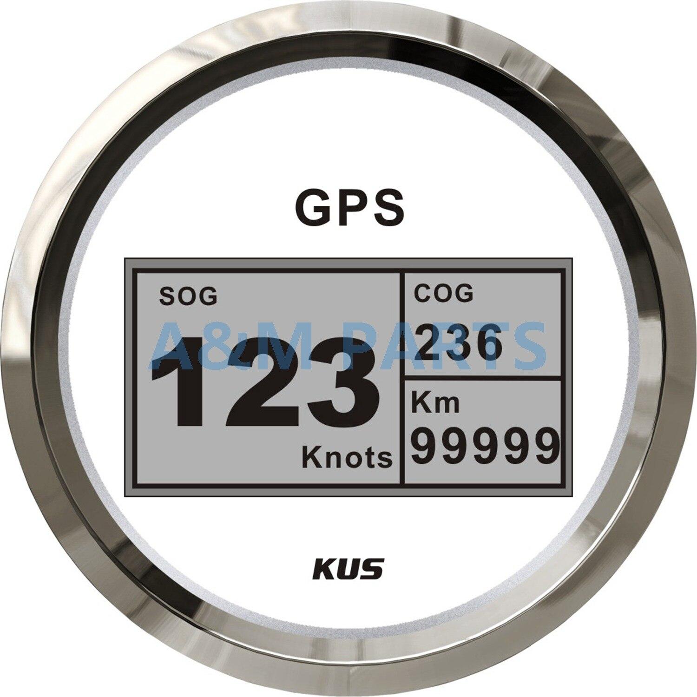 KUS bateau GPS compteur de vitesse jauge de vitesse numérique voiture camion Marine 85mm