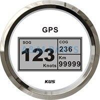 KUS GPS для лодки цифровой измеритель скорости автомобильный Грузовик морской 85 мм