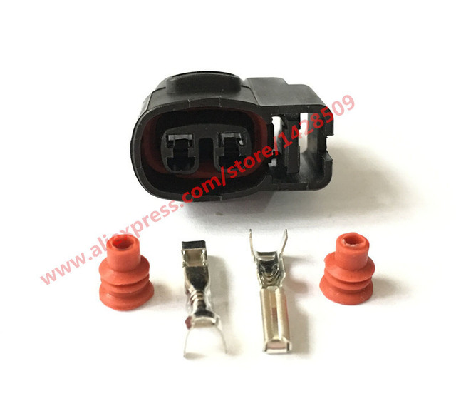 5 Sets 2 Pin 2 0mm Female For Kia Ignition Coil Ignition Coil Connector CVVT Fuel_640x640 aliexpress com buy 5 sets 2 pin 2 0mm female for kia ignition 1986 Toyota SR5 Fuel Injector Wire Harness at crackthecode.co