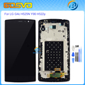 High quality replacement For LG G4C H525N lcd display with touch digitizer with frame h525 Y90 H522y h500+free tools black color