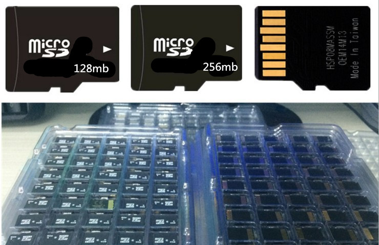 Image 2 - Factory price!!! 100pcs/lot 64mb 128mb 256mb 512mb Micro SD Card TF Card Micro Memory Card For Cell Phone-in Micro SD Cards from Computer & Office