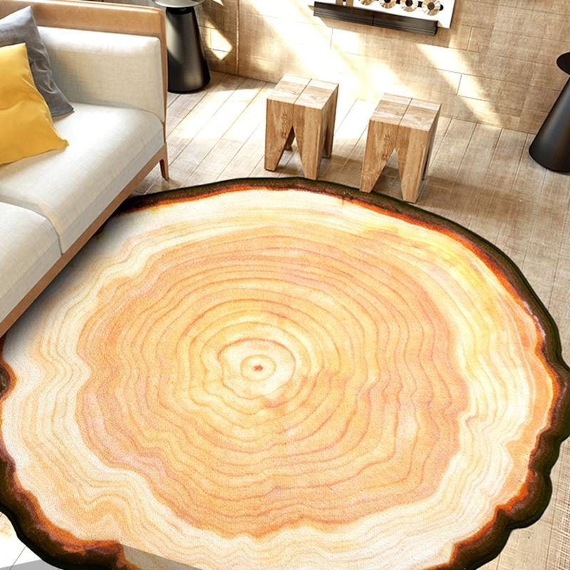 Antique ξύλινο δέντρο ετήσιο δαχτυλίδι - Αρχική υφάσματα - Φωτογραφία 3