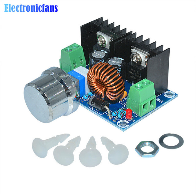 dc dc step down  Max 8A 200W DC DC Step Down Buck Converter Power Supply XL4016 PWM ...