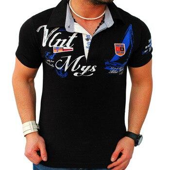 8a1a066f2f648fe Product Offer. ZOGAA 2019 мужская летняя брендовая Высококачественная  рубашка поло с коротким рукавом ...