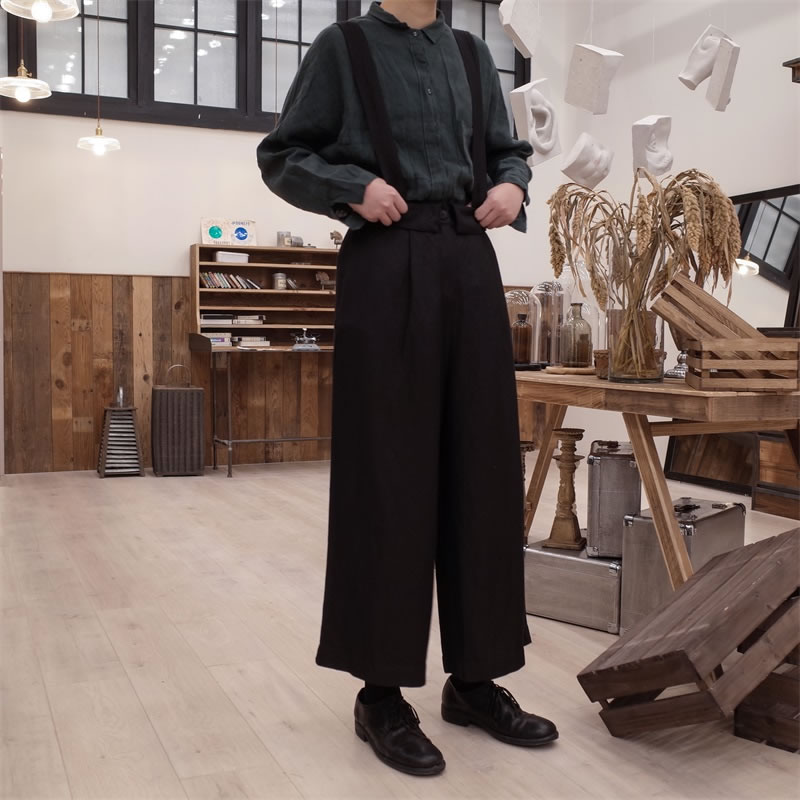 Lâche Printemps Solide Mode Femelle Cheville Femmes xitao2019 Bouton Wbb1865 De Couleur longueur Été Black Pantalon Poche Nouvelles Corée PiZukX