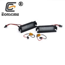 Eonstime 2pcs Canbus 18SMD Led Number License Plate Light Lamp for Hyundai I30 (GD)2013 2014 2015 Auto Car-styling