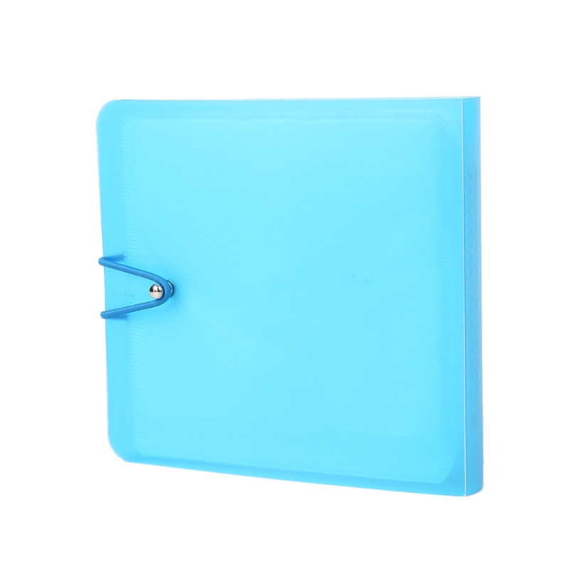12 Sleeves New Colorful CD DVD Disc Carry Wallet Candy Color Case Holder Storage Cover Bag