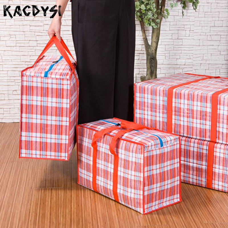Luggage-Bag Cloth Pack-Up Middle-Size Large Waterproof Women Man And Oxford Move 58cm--42cm--25cm