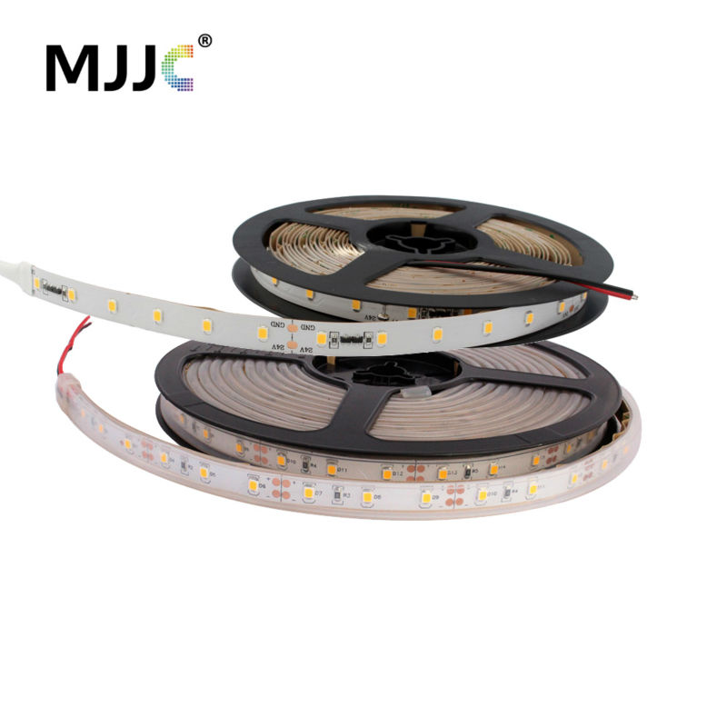 LED Strip Light 24V DC 5M 300 SMD 2835 LED Ribbon Decoration Flexible Tape led Stripe Light Waterproof IP67 Warm Cool White