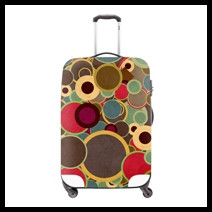 8 Fashion Colorful Elastic Luggage Cover,Waterproof Suitcase Cover Appiy For 18-30 inch Travel Suitcase,Luggage Accessories