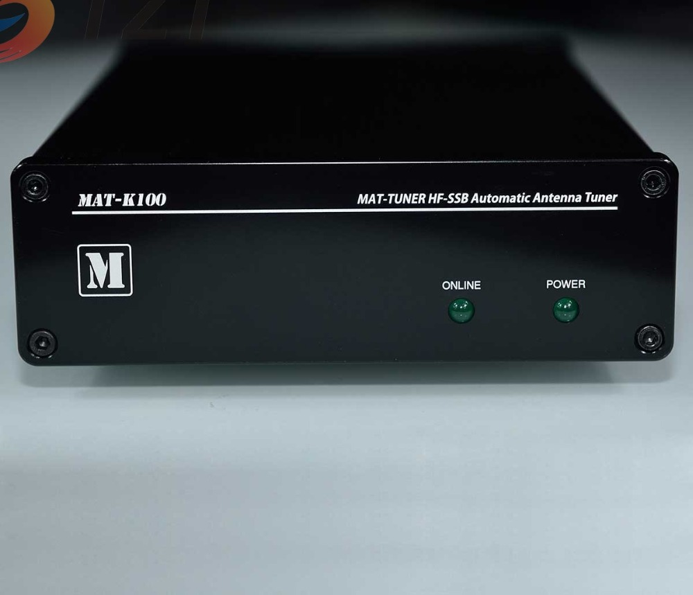 2018 MAT-K100 HF-SSB Automatic Antenna Tuner Short Wave 120W Auto Tuner Ham Radio