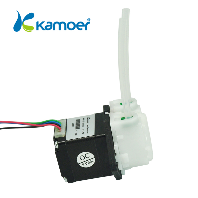 Kamoer KPP-ST 12V mini stepper motor peristaltic water pump kamoer kpp st peristaltic pump 12v 24v stepper motor pump pharmed bpt tubing water pump arduino control low flow rate