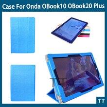 """Para onda OBook 20 Más caso de la cubierta caso de La Manera para OBook 10 OBook10 pro OBook10 se10 10.1 """"tablet pc + free 3 regalos"""