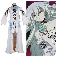 Anime Pandora Hearts Cosplay Costume - Alice  White Rabbit Party Dress