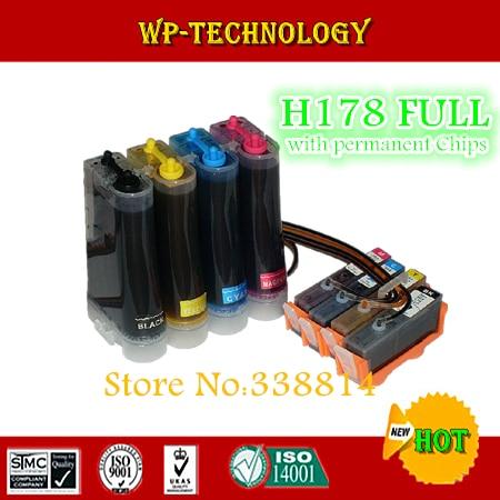 ФОТО CISS suit for HP178 , HP-178 suit for  HPC6380 hpC6300 hpC5300 hpC5383 hpC5380 hpC6383 hpD5460 hpD5400 ,full ink with ARC chips