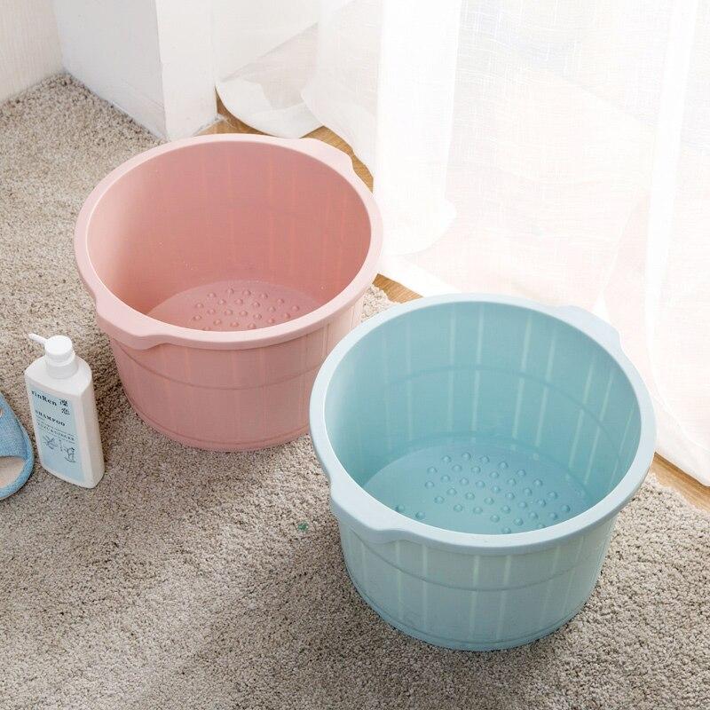 Home with massage feet barrels winter high wash basin plastic ...