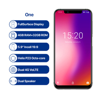 """cell phone screen UMIDIGI one Octa Core cell phone 5.9"""" FHD+Full Screen  4G+32GB F/1.7 Android 8.1 4G Smartphone gsm mobile phone unlocked cell (2)"""