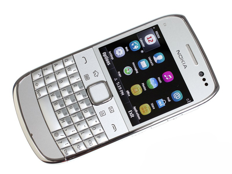 E6 Refurbished Original Unlocked Nokia E6 E6 00 2.4 'inch 8MP Camera 3G WIFI Bluetooth FM Symbian OS Mobiele Telefoon gratis verzending - 2