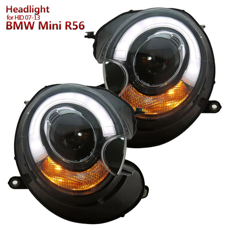 for BMW MINI Cooper Clubman R55 R56 R57 LED Projector Headlights Assembly fit 2007-2013 year cars HID/Xenon models