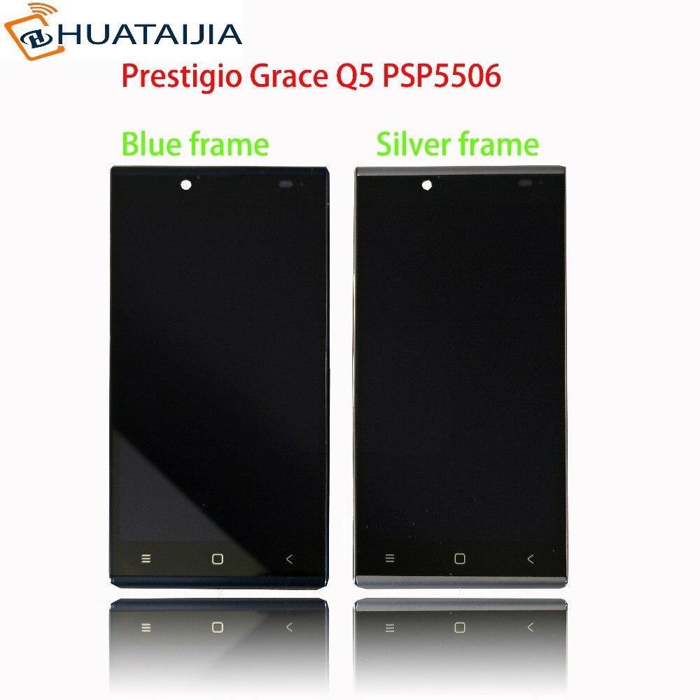 5 écran LCD + écran Tactile Pour Prestigio Grâce Q5 PSP5506DUO PSP5506 PSP 5506 DUO numériseur panneau capteur lentille assemblée en verre