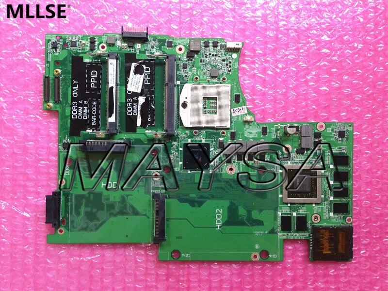 CN-0YW4W5 0YW4W5 YW4W5 DAGM7MB1AE1  FOR DELL 17 L702X Laptop motherboard  HM67 GT 555M N12E-GE-B-A1 MainBoard 100% Tested new laptop speaker for dell for alien 17 r2 m17x speaker pk23000pp00 cn 0c4r39 0c4r39 left