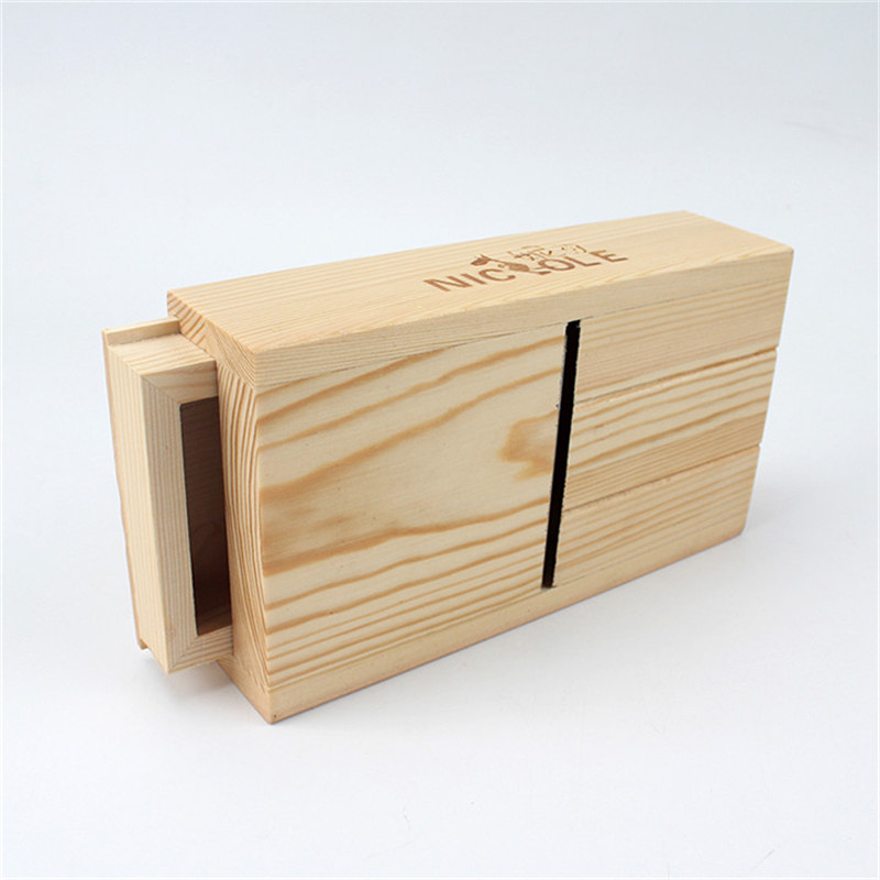 Adjustable Loaf Soap Cutter Wood Box Cutting and Beveler Planer Tool for Handmade Soap Making