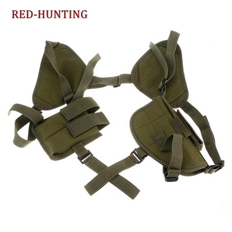 2020 New PP PPK 1911 Tactical Universal Double Draw Shoulder Holster Versatile Breathable Concealed Carry For Pistol Handgun Gun