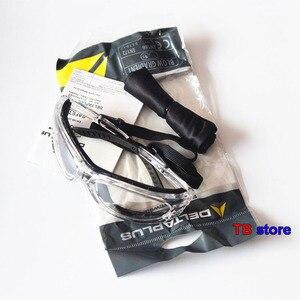 Image 3 - نظارات واقية من DELTA PLUS 101123 نظارات حماية من الأشعة فوق البنفسجية مضادة للصدمات أثناء ركوب الدراجات قابلة للفصل مزودة بإطار حماية من الفقاعات