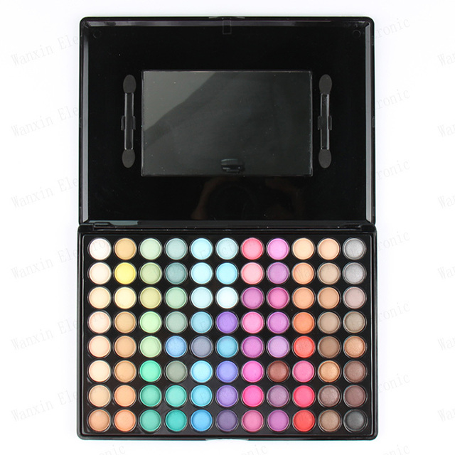 Fashion Special New Makeup Warm Pro 88 Full Color Eyeshadow Palette Eye Beauty Makeup Set Eye Shadow Professional P88 With Brush