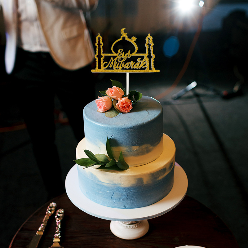 Cake Toppers Eid Mubarak Wedding Baby Shower Birthday ...