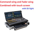 2017 New DMX Control Combine Command Wing and Fader Wing by Touch Monitor Dot2 XL-F Compact Lighting Console up to 4096 Channels