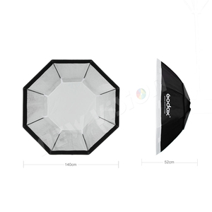 Image 3 - Godox 95 centímetros 120 centímetros 140 centímetros Estúdio Octagon Favo De Mel Grade Softbox Refletor softbox com Bowens Monte para Estúdio Strobe a Luz do Flash